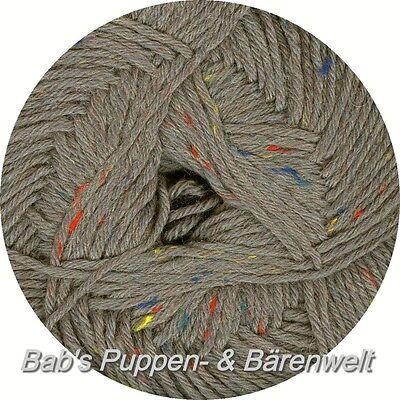 Regia Tweed Trend 6-fädig Farbe: (9124) grau tweed - 150 g
