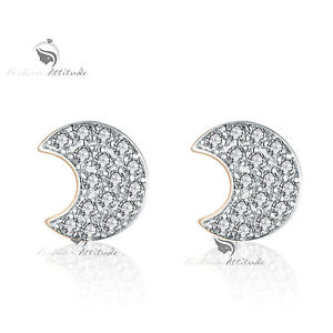 18k-yellow-white-gold-gf-made-with-SWAROVSKI-crystal-moon-stud-earrings-cute