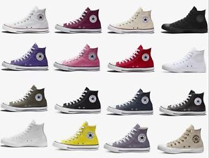 f84ecb96bf2f NEW Converse Chuck Taylor All Star High Top Canvas Casual Sneakers ...