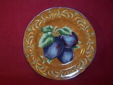 """Noble Excellence ~ Napa Valley ~ Round Salad Plate 9""""  Plum"""
