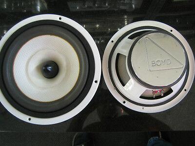 Wide range, Fullrange 8 inch speaker 16 Ohm Pair
