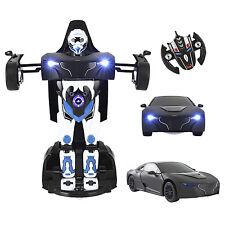 2.4g RC Radio Telecomando Auto Transformer deformazione Robot Kid Bambini Giocattolo