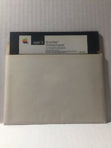 Apple-II-Mouse-Paint-Drawing-Original-Program-Disk-Computer-Rare-Vintage-1986