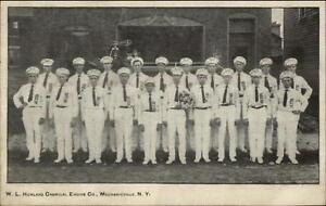 Mechanicville-NY-WL-Howland-Chemical-Engine-Co-Fire-Dept-c1905-Postcard