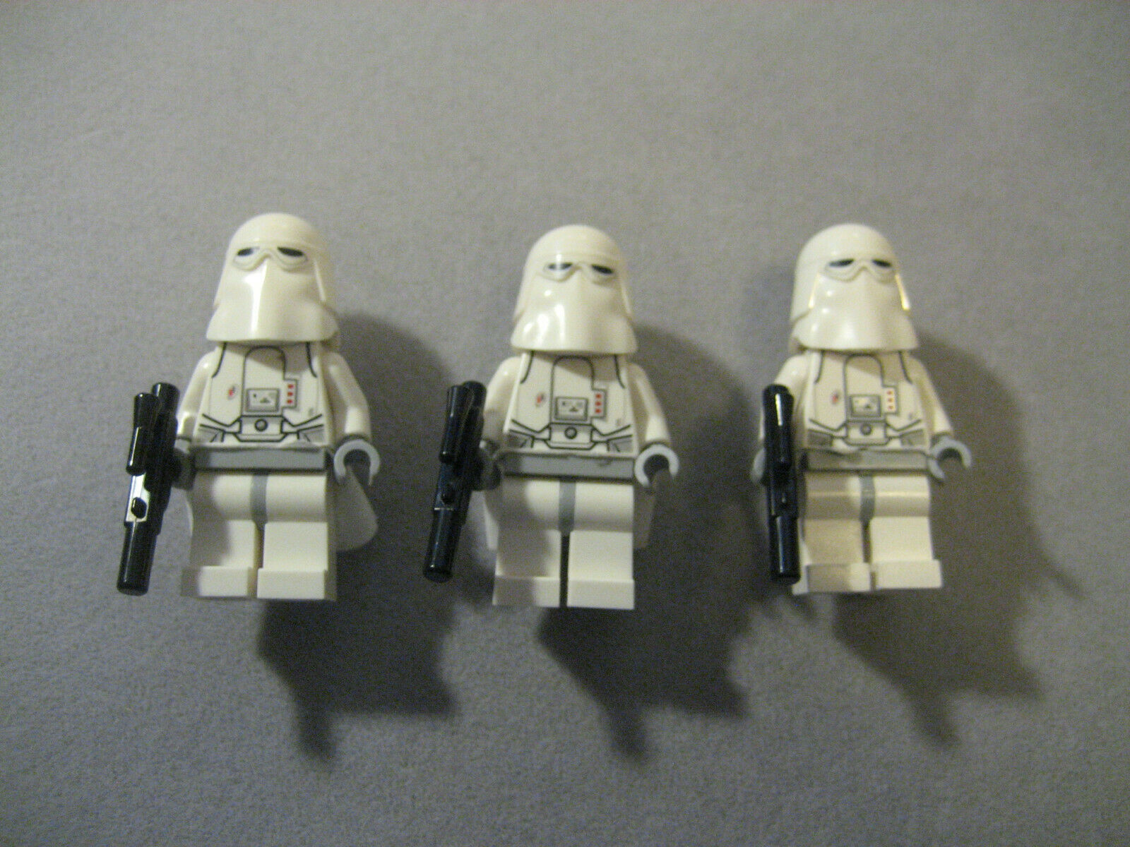 LEGO Star Wars Snowtroopers With Blasters Lot Lot Lot of 3 75054 6c5023