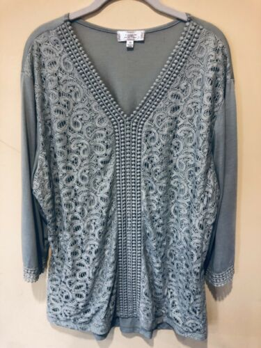 Shannon Ford New York Women's Top Blouse Plus Size