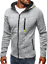 Men-039-s-Warm-Hoodie-Hooded-Sweatshirt-Coat-Jacket-Outwear-Jumper-Winter-Sweater thumbnail 2