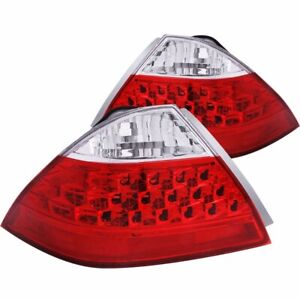 FOR-2006-2007-HONDA-ACCORD-SEDAN-TAIL-LIGHTS-RED-CLEAR-NO-LED-KIT-PAIR-LH-RH