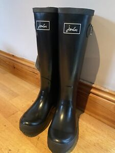 Joules-Black-Wellies-Size-5-2225