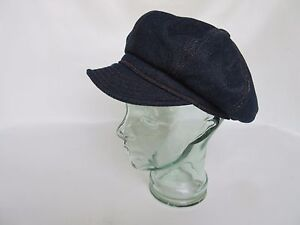 DENIM-AZUL-toletero-Gorra-Spitfire-HOT-ROD-ROCKABILLY-US-ARMY-WK2-VINTAGE