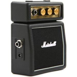 MARSHALL-MS-2-mini-amplificatore-portatile-a-batteria-per-Chitarra-iPhone-iPad