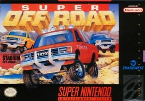 Super-Off-Road-SNES-Great-Condition-Fast-Shipping