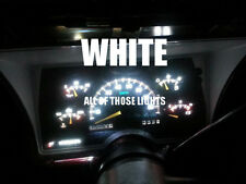 6 WHITE T10 LED INSTRUMENT PANEL CLUSTER DASH LIGHT BULB PC168 PC194
