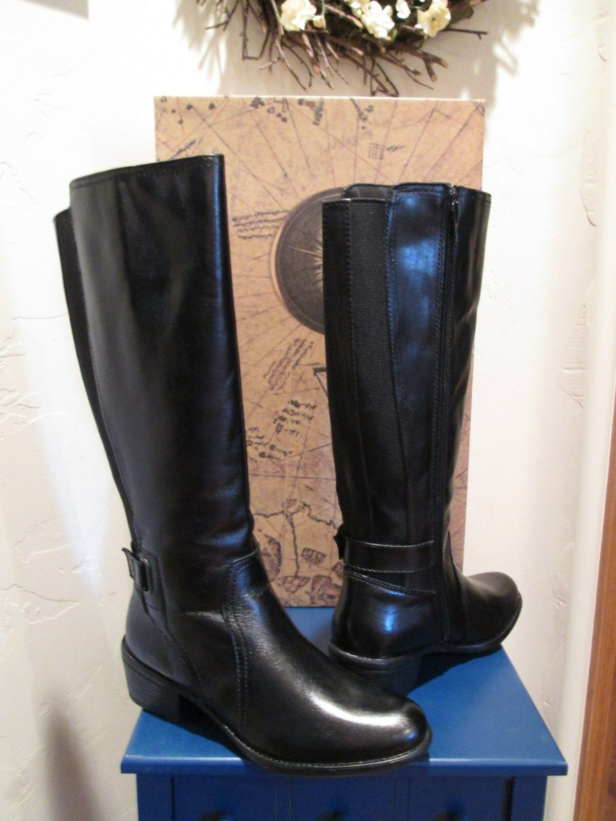 BUSSOLA STYLE ANTWERPEN BLK LEADER RIDING RIDING RIDING BOOTS SHES SZ 5 -5.5 nyA USA  fabriksförsäljning