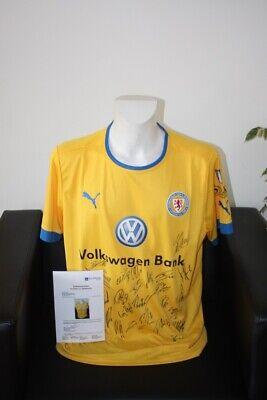 Analytisch Eintracht Braunschweig Trikot 2012/2013, Teamsigniert, Xl