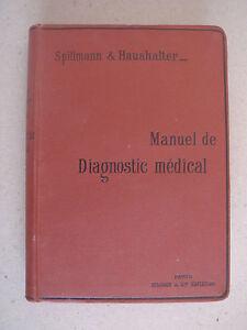 SPILLMAN-HAUSHALTER-MANUEL-DE-DIAGNOSTIC-MEDICAL-1894-MASSON-EDITEUR