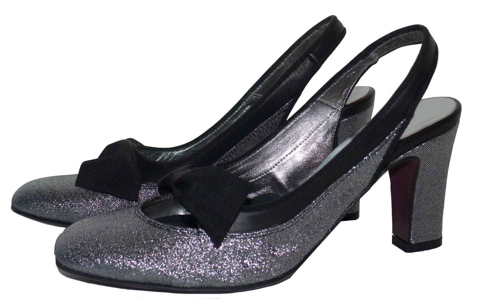Luc Berjen Lame Slingbacks Größes Schuhes Sandales Various Colour Größes Slingbacks NIB SP 39a647