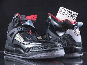 newest e50d2 ae507 Image is loading Nike-Air-Jordan-Spizike-GS-Stealth-Sz-6Y-
