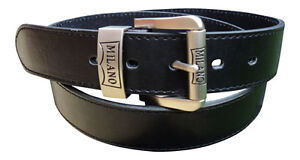 "1.5/"" Wide Men/'s Brown Leather Lined Belt by  Milano® 48/"" Waist 28/"""