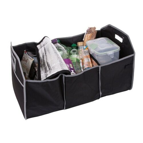 Object Car Trunk Organiser Foldable Boot Storage Tidy Travel Luggage Holder