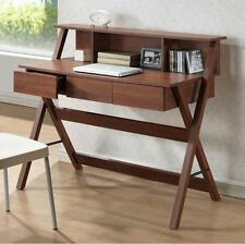Writing Desks For Home Office With Drawers Computer Small Spaces Storage Table