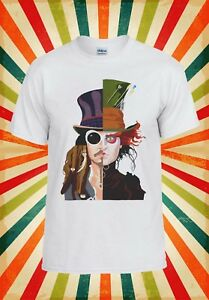 Rationnel Mad Hatter Johnny Depp Jack Sparrow Hommes Femmes Débardeur Tank Top Unisexe T Shirt 162e-afficher Le Titre D'origine