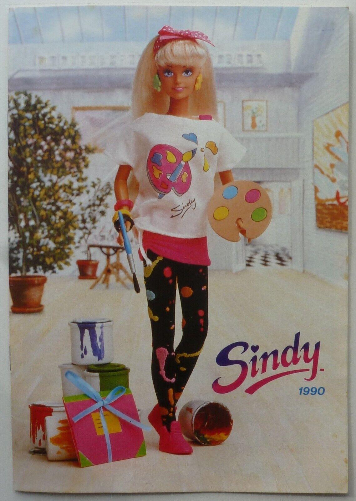 1990 SUPER RARE HASBRO Vintage Sindy Catalogue. MINT NEW Condition.