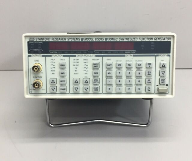 Stanford Research Systems Ds345 30 Mhz Synthesized Function Generator For Sale Online Ebay