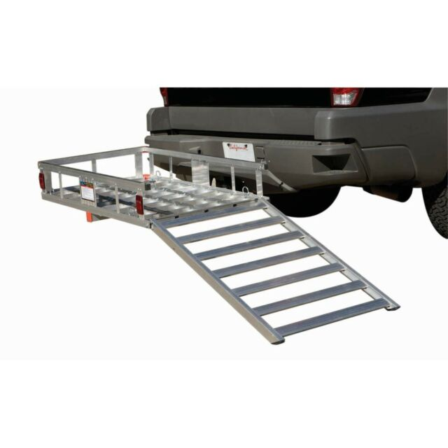 """American Motorhome RV 2"""" Hitch Mounted Mobility Scooter / Wheel Chair Rack 67599"""