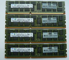 16GB (4x4GB)  DELL T320 T410 T610 T620 T710 PC3-10600R  DDR3 1333MHz Reg ECC