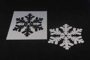 Snowflake Circle Stencil Durable /& Reusable Mylar Stencils