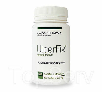 UlcerFix Heartburn Relief Acid Reducer,Ulcers,Gastritis Best Herbal Pills WORKS