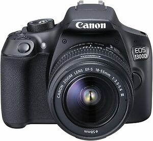 Canon-EOS-1300D-Fotocamera-Reflex-18-Mpx-Kit-Obiettivo-EF-S-18-55-III-Scheda-SD