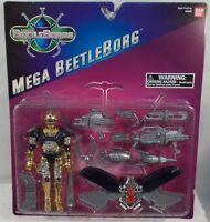 Beetleborgs Saban - Mega Gold Beetleborg With Mega Power Wings By Bandai (moc)