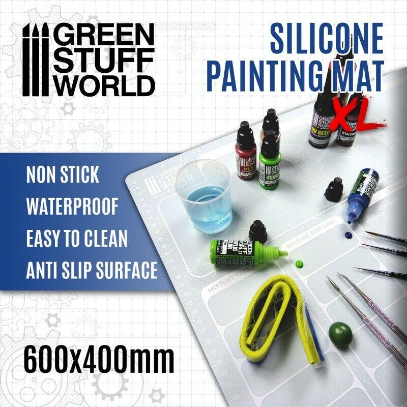 Tapete de Pintura 600x400mm - pintar soporte escultor diorama warhammer 40K