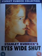 Tom Cruise Nicole Kidman EYES WIDE SHUT ~ 1999 Stanley Kubrick Drama GB DVD