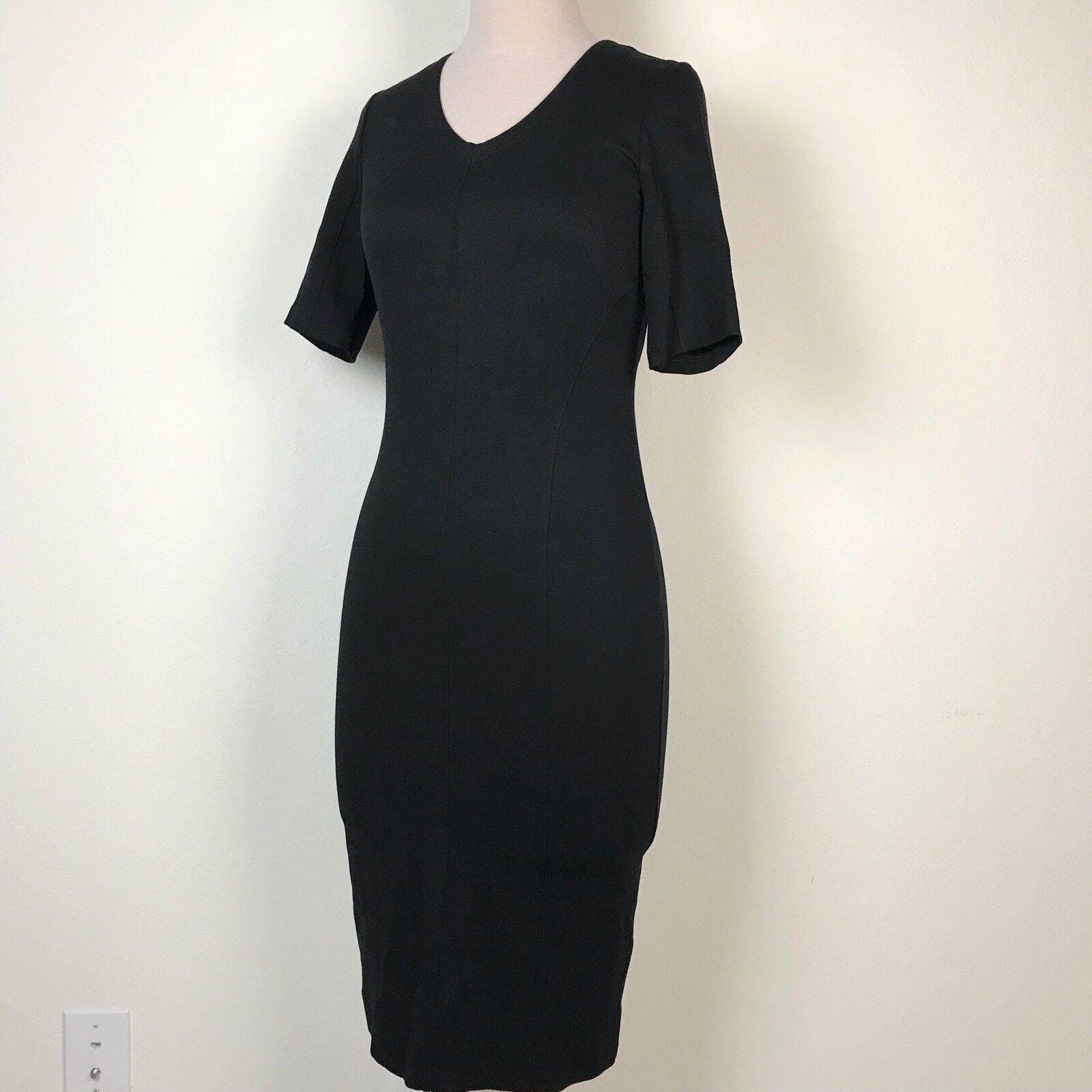 Cabi Claire Black Dress Career Evening LBD #3101 … - image 2