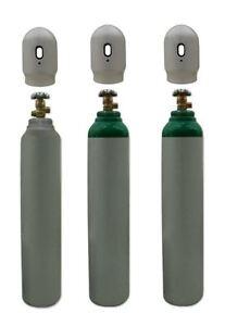 Oxygen-O2-Gas-Bottle-Cylinder-New-Full-1-8m3-8L-180-200-Bar-Free-UK-Delivery