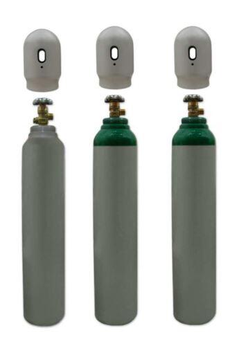 Argon//co2 Mix GAS Bottiglia Cilindro NUOVO 1.8m3 8l 200 BAR gratuito UK consegna! COMPLETA