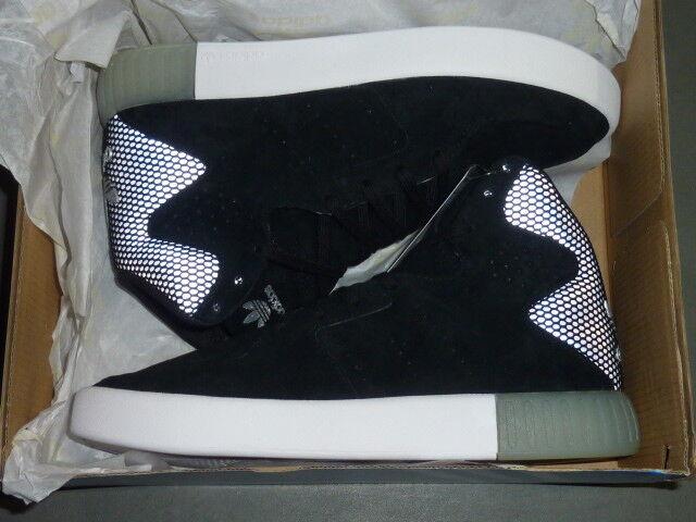 NOUVEAU Chaussures Femme Adidas Tubular Invader 2.0 Noir / Argent (BB2068) SIZE 6 - NIB