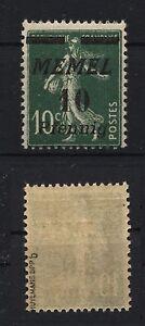 Memel-Litauen-Klaipeda-1922-Michelnr-54-b-Huylmans-BPP-Katalogwert-100