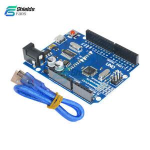 UNO-R3-ATMEGA328P-16AU-CH340G-Micro-USB-Board-With-Cable-For-Arduino