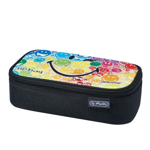 "herlitz Schlamper-Etui be.bag BEATBOX Smiley B/&Y /""Faces/"""