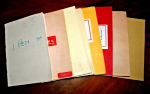 CatalinaStamps: Worldwide Stamp Collection in 8 Approval Books, 2481 Stamps, R23