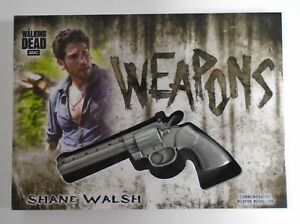 Details about THE WALKING DEAD HUNTERS & HUNTED SHANE WALSH REVOLVER WEAPON  MEDALLION