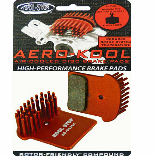 Kool Stop D635K Plaquettes de Frein à Disque avec Aero-Kool pour Shimano XTR