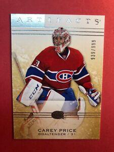 2014-15-UD-Upper-Deck-Artifacts-109-Carey-Price-Montreal-Canadiens-939-999