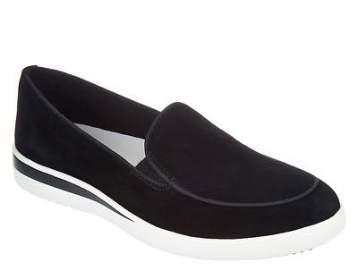 ED Ellen DeGeneres Suede Slip-On Shoes Women/'s Antona New Cognac Size 8.5W Wide