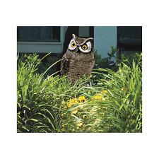 Easy Gardener 8001 Garden Defense Action Owl   Scare Away Pests