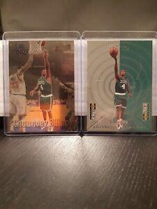 Chauncey-Billups-lot-Rookie-96-97-topps-205-1998-upper-deck-insert-M-2